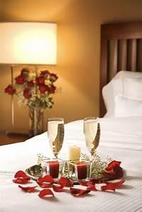 Déco romantique dans la chambre à coucher pour St-Valentin