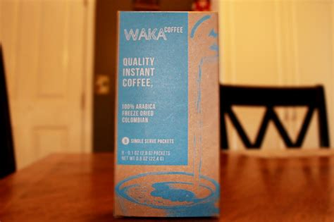 Based on the amount of reviews and publicity this instant coffee has received, it seems that this is their best seller instant coffee, so we were super excited to start with this collection. Waka Instant Coffee Review - The Kitchen Witches
