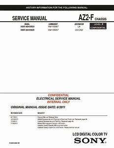 Sony Xbr-65hx929 Service Manual