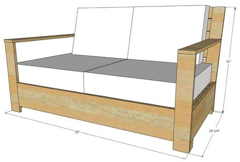 Dimensions Of Loveseat by Bristol Outdoor Loveseat Paint Design