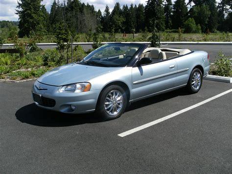 Chrysler Sebring Convertible 2002 by 2002 Chrysler Sebring Limited Convertible