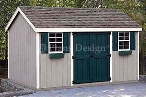 storage utility garden shed plans building