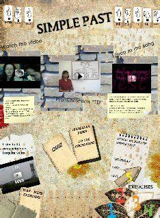 verb tenses activities images verb tenses