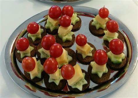 Bildergebnis für kleine häppchen + Tomate + gurke