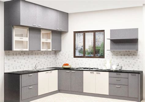Of Kitchen Furniture by Buy Erica L Shaped Kitchen With Laminate Finish
