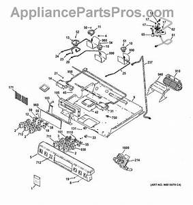 Parts For Ge C2s985set2ss  Gas  U0026 Burner Parts