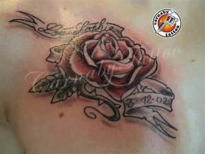 Rose En Tatouage : tatouages fleurs roses fleur de cerisier lierre et autres plantes ~ Farleysfitness.com Idées de Décoration