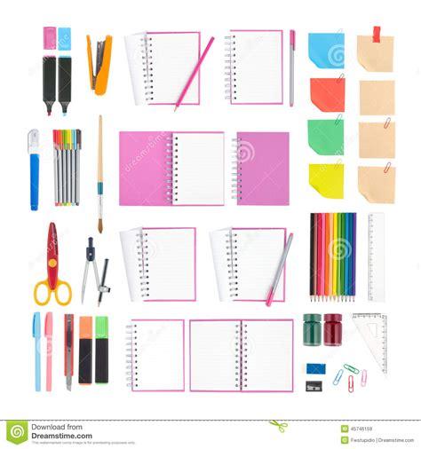 outils de bureau outils de carnet et d 39 école ou de bureau d 39 isolement sur
