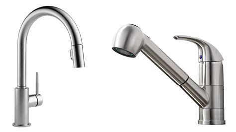 best kitchen sinks and faucets top 5 best kitchen faucets reviews 2017 best pull