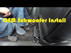 How To Install Oem Subwoofer 2005-2009 Subaru Legacy