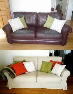 Custom slipcovers and couch cover for any sofa online for Sofa slipcovers for leather furniture