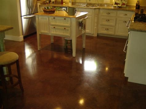 stained concrete kitchen floor acid stained concrete floors direct colors inc 5695