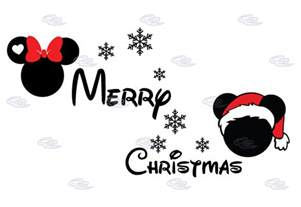 merry christmas disney matching shirts mickey minnie mouse head snowflakes married with mickey