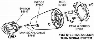 1963 Steering Column Turn Signal System