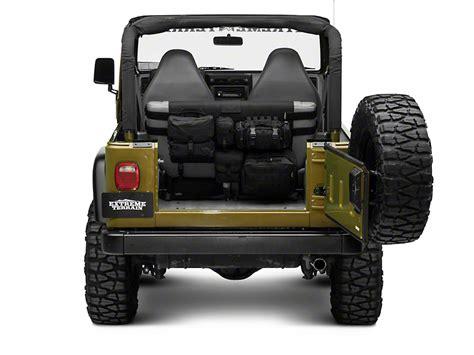 jeep wrangler backseat smittybilt wrangler g e a r rear seat cover black