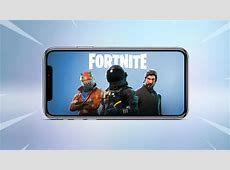 Fortnite Mobile on iOS