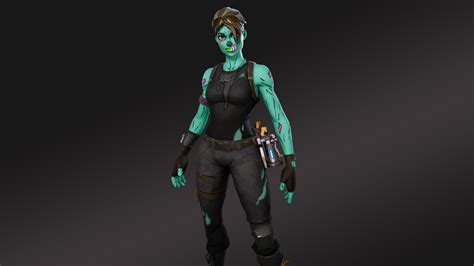 Ghoul Trooper 4k 8k Hd Fortnite Battle Royale Wallpaper