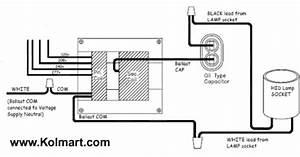 70 Watt Metal Halide Ballast Wiring Diagram