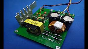 Handmade Car Amplifier Circuit Sg3525 Dc To Dc Converte