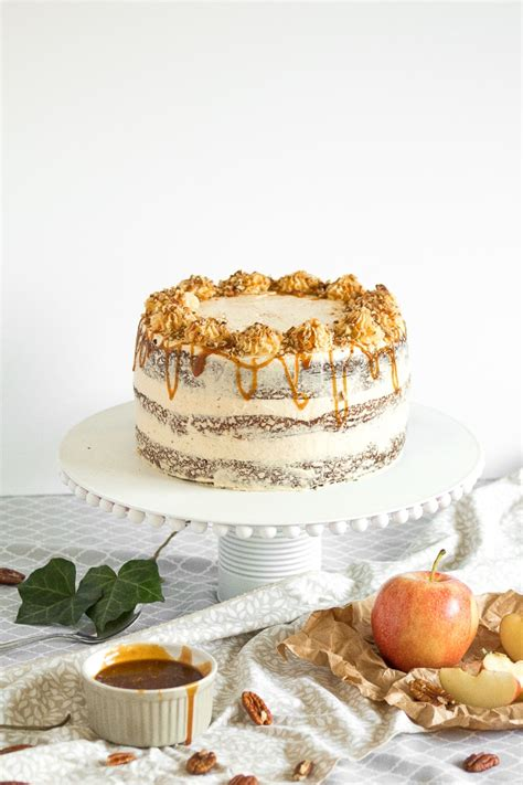 apple cardamom cake apple cardamom cake with caramel pecan butter frosting ahead of thyme