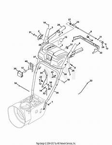Troy Bilt 31as62n2711 Storm 2410  2013  Parts Diagram For