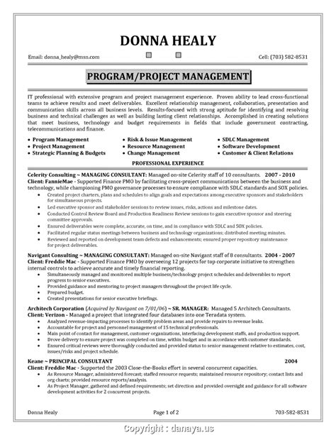 Government Resume Guidelines by Modern Project Manager Government Resume Transform Resume