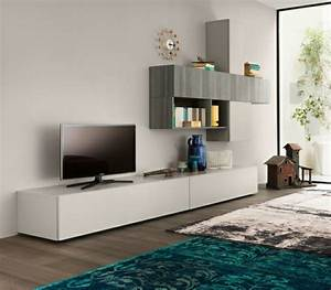 Meuble De Tele Design : 40 meubles t l de design original et pratique ~ Teatrodelosmanantiales.com Idées de Décoration
