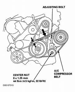 1996 Acura 2 5tl Serpentine Belt Routing And Timing Belt