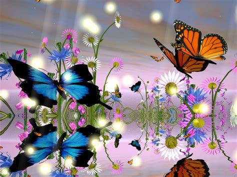 Free Animated Butterfly Wallpaper - fantastic butterfly animated wallpaper
