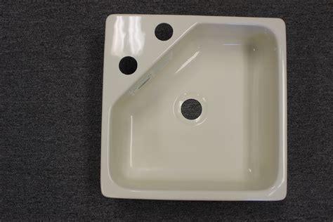 biscuit kitchen faucet 15 quot x 15 quot acrylic utility sink w corner faucet mount