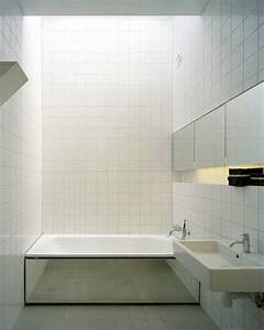 Carrelage Blanc Sol : du carrelage blanc dans la salle de bain c 39 est zen ~ Dode.kayakingforconservation.com Idées de Décoration