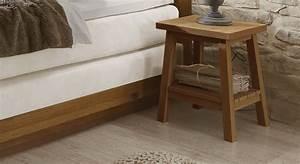 Nachttisch Für Boxspringbett Anthrazit : platzsparender nachttisch aus massiver wildeiche galicia ~ Michelbontemps.com Haus und Dekorationen