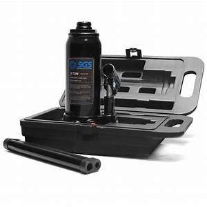5 Ton Hydraulic Bottle Jack With Carry Case