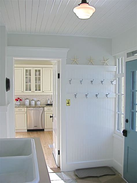 Porch Utility Room by A Pretty Porch Mudroom Laundry Room Traditional Porch