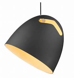 Suspension Noire Design : suspension design noire pur e tsim ~ Teatrodelosmanantiales.com Idées de Décoration