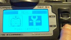 Turnigy 9x Aux Channel Setup Tutorial In Hd