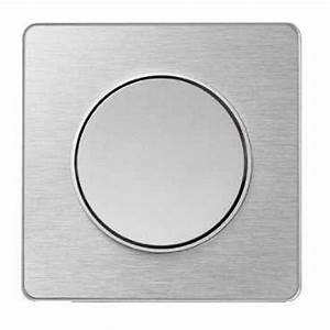 Plaque Alu Brossé : schneider s530802j odace touch plaque aluminium bross ~ Edinachiropracticcenter.com Idées de Décoration