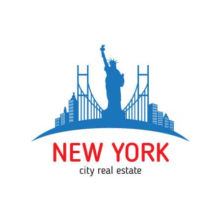 nyc logo design free new york real estate logo design template for free