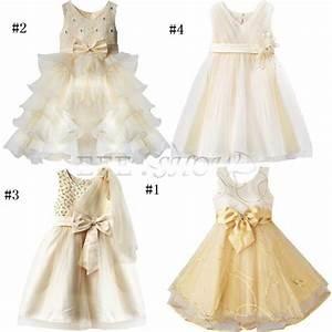 enfant fille bebe princesse robe tenue de soiree mariage With robe de soirée pour jeune fille de 14 ans