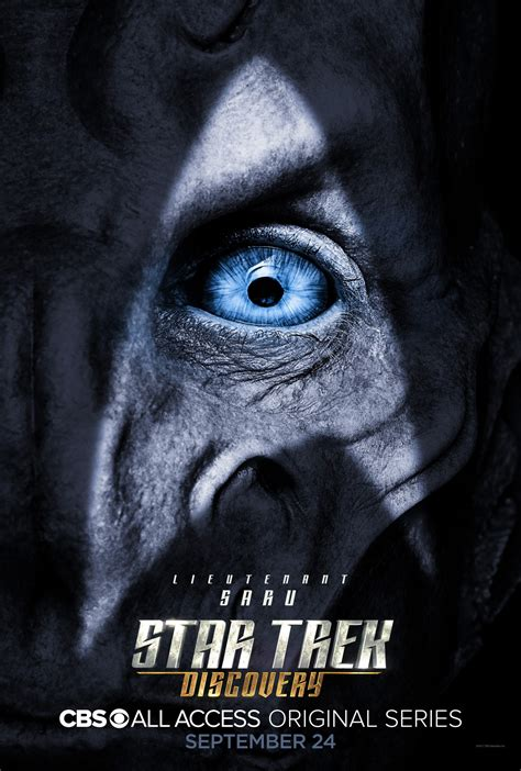 star trek discovery character posters unveiled