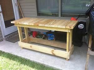 Build Free Wood Workbench Plans DIY plywood furniture