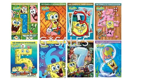 Spongebob Squarepants Series Complete Season 1-8 (1 2 3 4