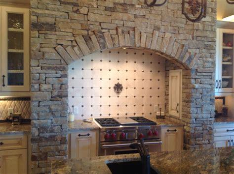 Cooktop stone surround   Decorating   Pinterest   Stove