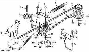 I Am Looking For A Motion Drive Diagram For A Deere Sabre 2046 Hv Lawn Mower To Put The New Belt