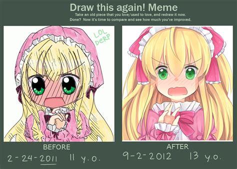 Draw This Again Meme - draw again meme by akia nyan deviantart com art draw this again pinterest meme