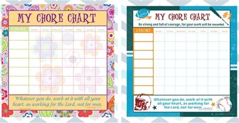 adorable peel stick reusable chore charts