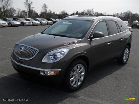 2011 Buick Enclave Colors by 2011 Cocoa Metallic Buick Enclave Cxl Awd 46654382