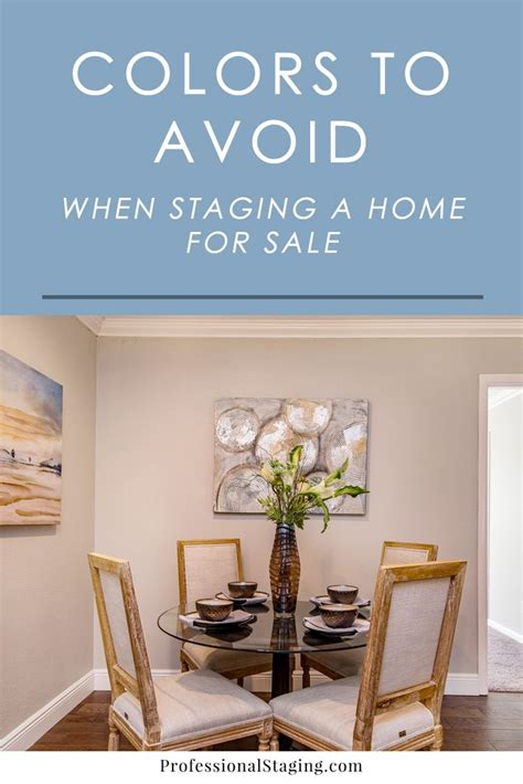 Decorating Ideas To Sell Your House by Colors You Should Never Use For Home Staging Blogs