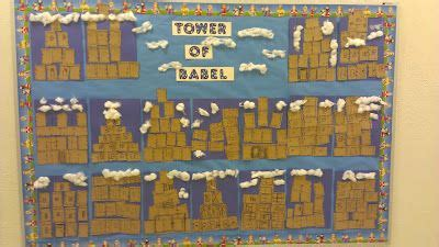 tower of babel craft stack pieces of and brown paper 790 | af16e448fd327a9e63dacde46a2905c8