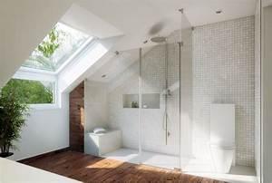 Duschvorhang Für Dachschräge : die besten 25 bad mit dachschr ge ideen auf pinterest badideen f r dachschr gen toiletten ~ Heinz-duthel.com Haus und Dekorationen
